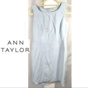 Ann Taylor Petite Career Cocktail Sheath Dress 6P